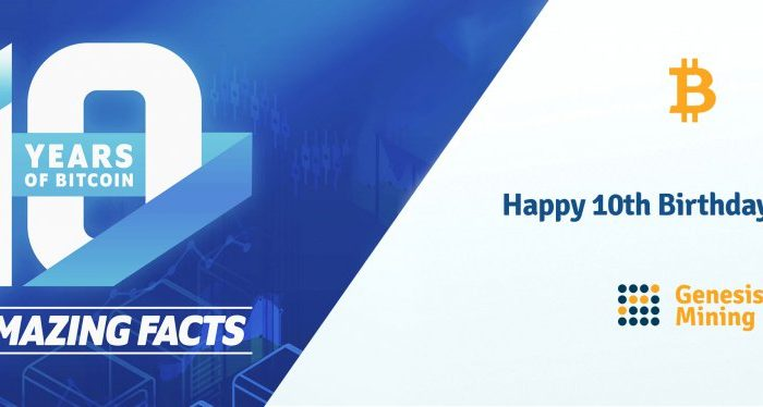 Happy Birthday Bitcoin! 10 Facts for 10 Years of the Network.