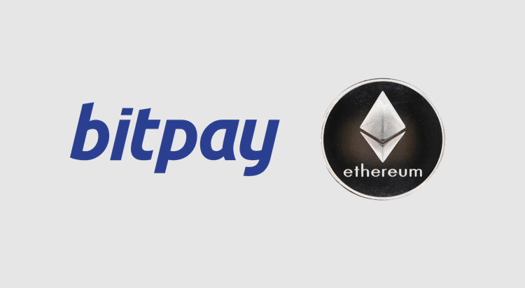 BitPay adds support for Ethereum (ETH)