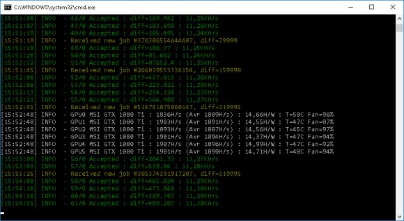 Mining Conceal (CCX) with CryptoNightConceal on Nvidia GPUs