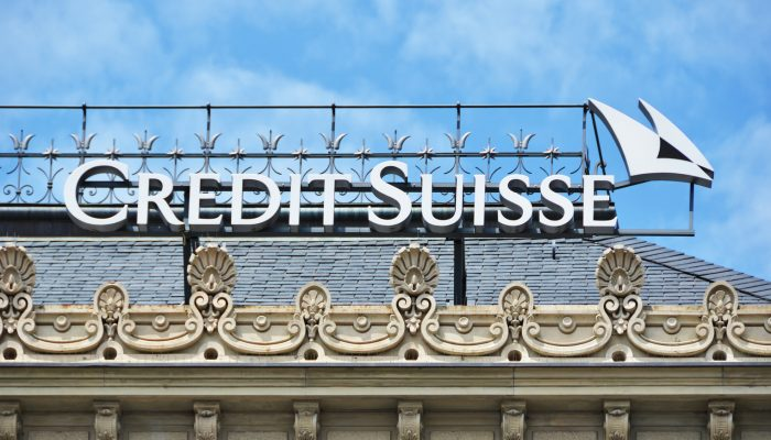 Credit Suisse Is Latest Bank to Charge Clients for Cash Deposits