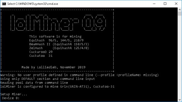 New lolMiner 0.9 OpenCL GPU Miner With Cuckatoo 31 Performance Boost