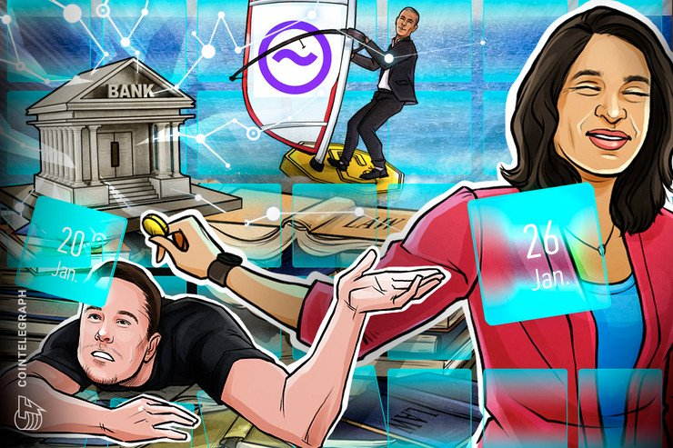 Telegram Attacks Apple, Musk on Crypto, WEF Debrief: Hodler's Digest, Jan 20–26