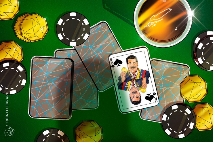 Maduro Announces Crypto Casino in Support of Petro and Public