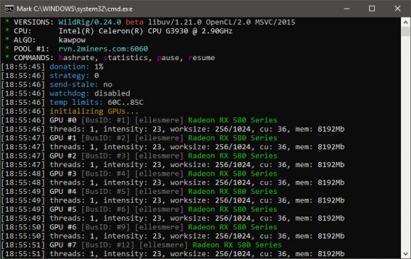WildRig Multi 0.24.0 Beta AMD GPU Miner With Improved KAWPOW Performance