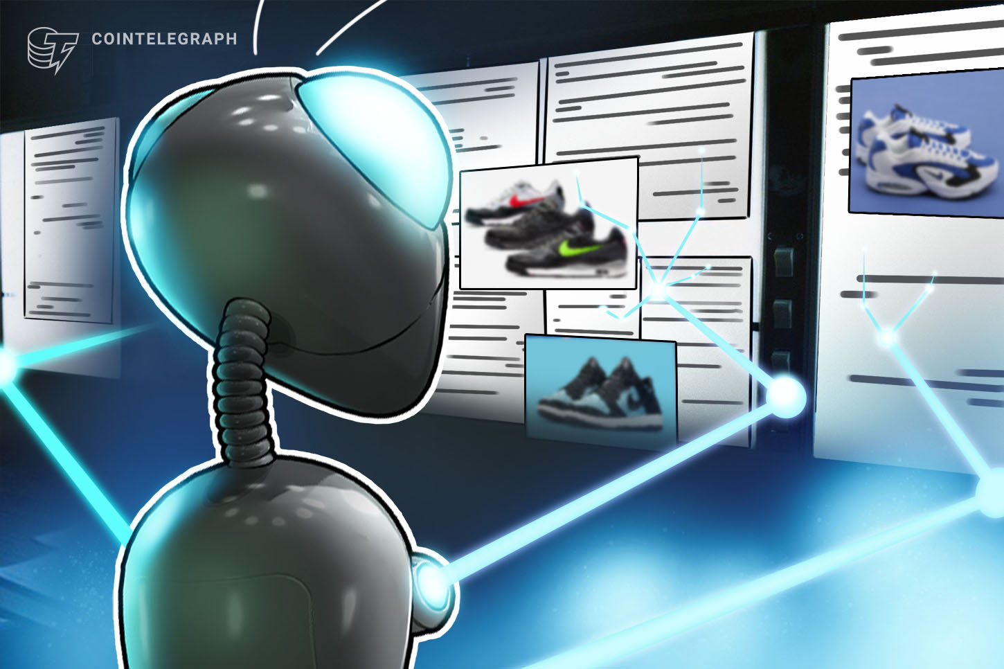 Blockchain Verifies the Authenticity of Non-Genuine Nikes