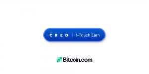 """Bitcoin.com Wallet Launches Cred's 1-Touch """"Earn"""" Button"""