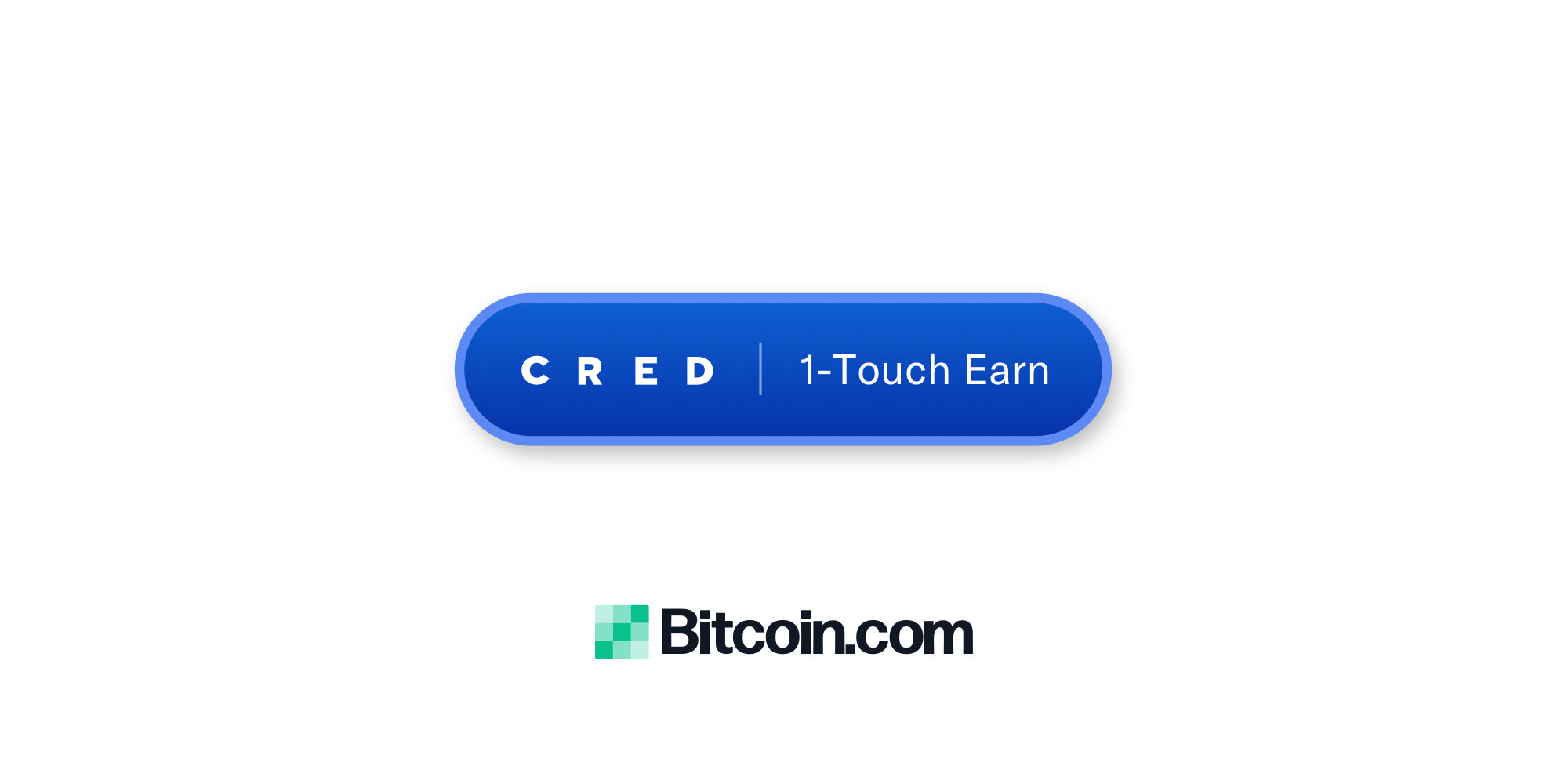 "Bitcoin.com Wallet Launches Cred's 1-Touch ""Earn"" Button"