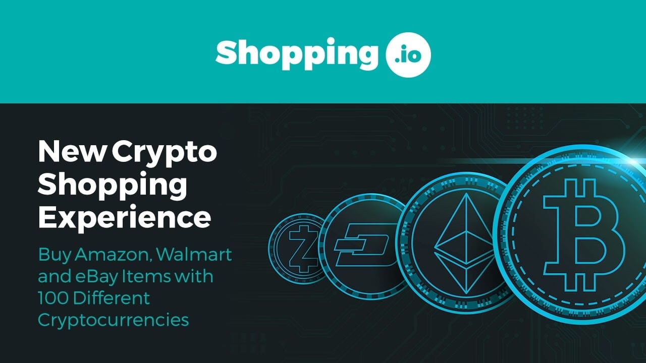 Shopping.io Enables Crypto-Payments on Popular E-Commerce Websites