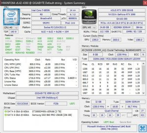 HWInfo 6.42 Shows GDDR6X Memory Temperature on Nvidia RTX 30 Series GPUs