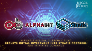 Alphabit Digital Currency Fund Deploys Initial Investment in Stratis Protocol and Initiates Coverage