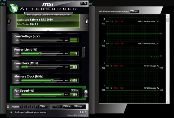 Optimized Ethereum Mining Settings for Nvidia RTX 3060 Ti, RTX 3070, RTX 3080 and RTX 3090 GPUs