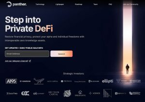 Interoperable DeFi Solution Panther Protocol Secures $8 Million