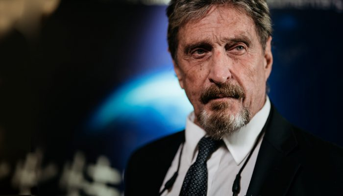 John McAfee's Widow Is Still Extremely Skeptical of Her Husband's Alleged Suicide